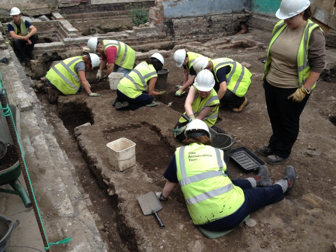 Toby's team begin to investigate a number of possible burials.